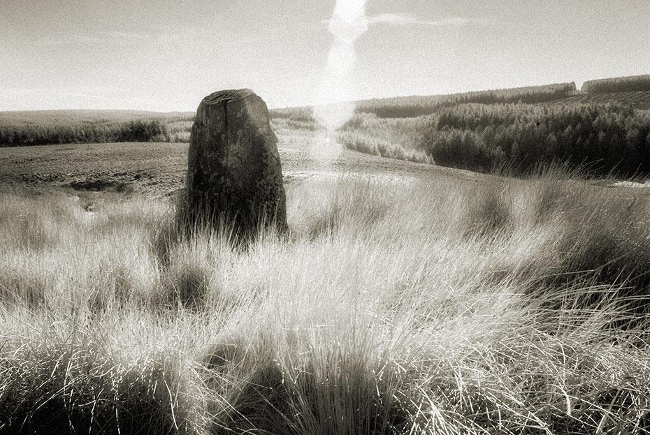 ballyvennaght standing stone 1