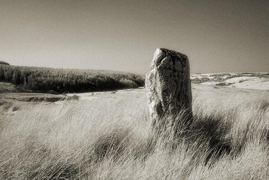 ballyvennaght standing stone 2