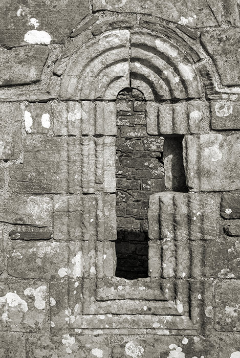 Banagher Old Church, window