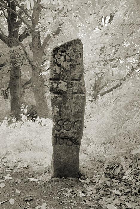 Castlewellan Cross Inscribed Stone