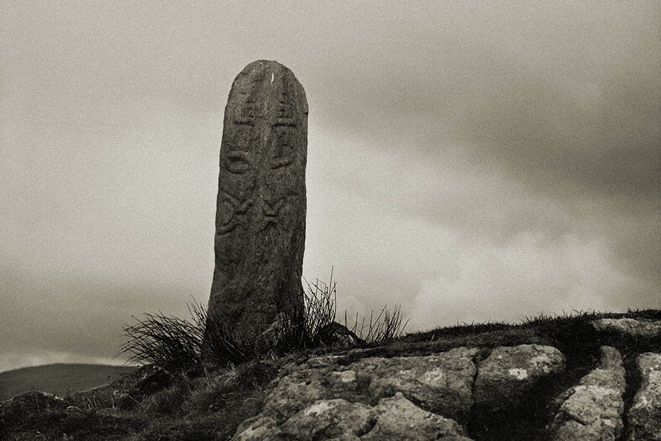 Colmcille Cross Pillar
