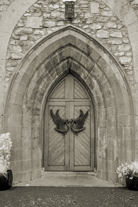 Drumcliff Church doors