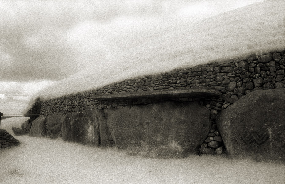 Kerbstones, Newgrange Passage Tomb
