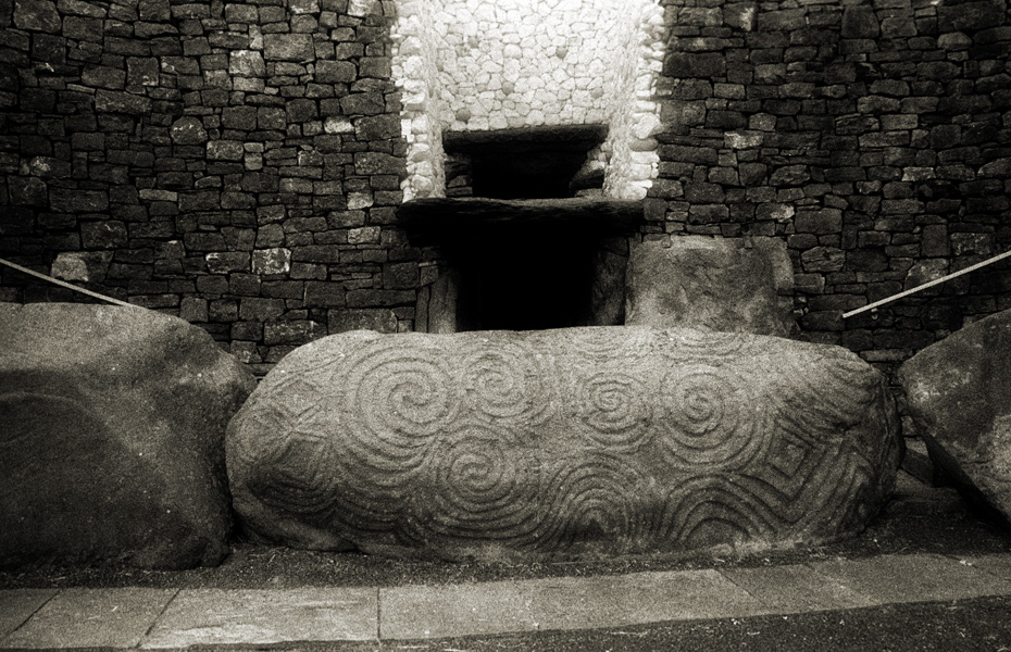 Entrance to the chamber, Newgrange Passage Tomb