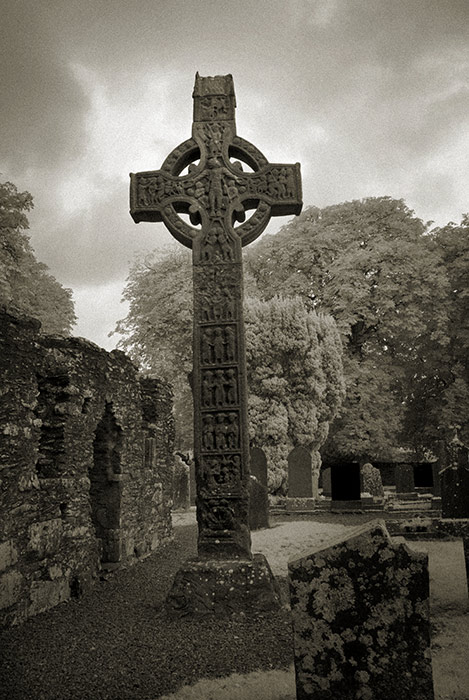 Monasterboice, The Tall Cross or West Cross