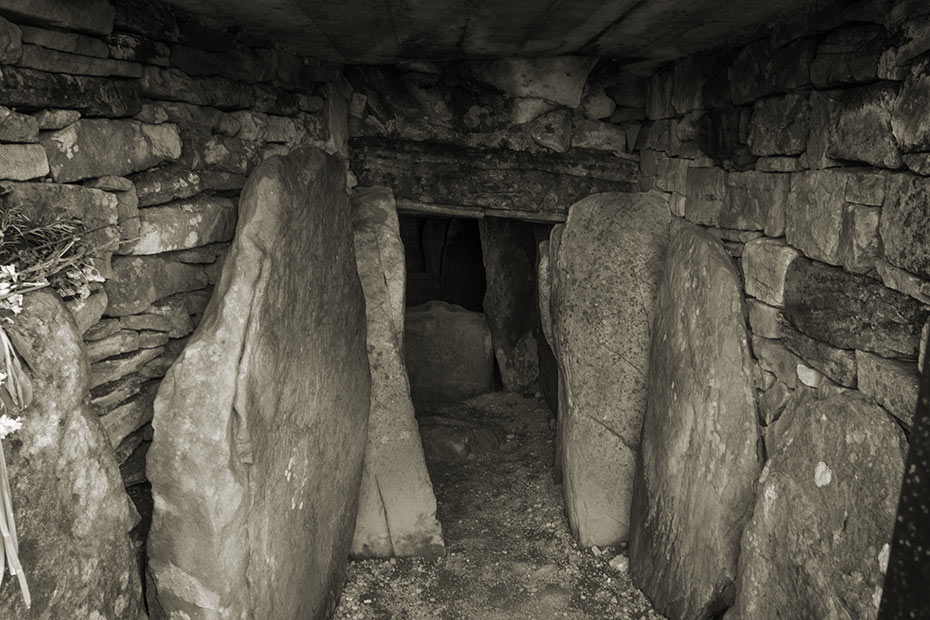 Inner chamber Cairn T, Loughcrew Megalithic Complex