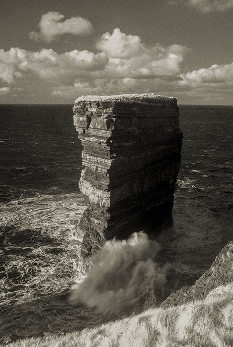 Dún Briste sea stack