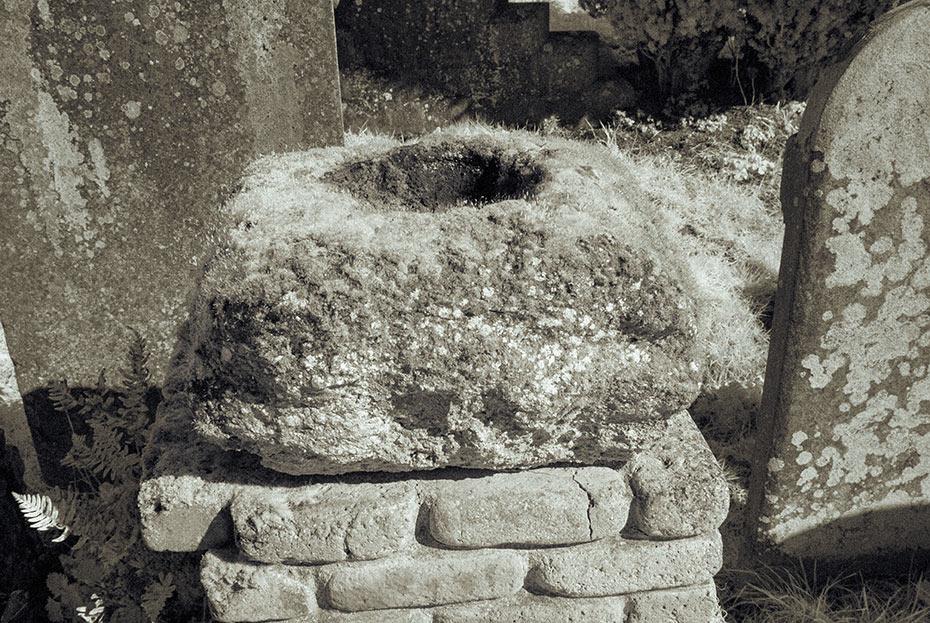 Kilroot Bullaun Stone