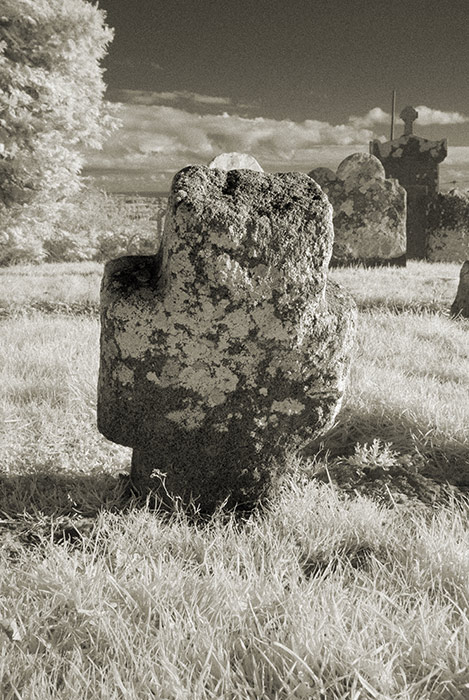 Headstones at St Brigid's Well