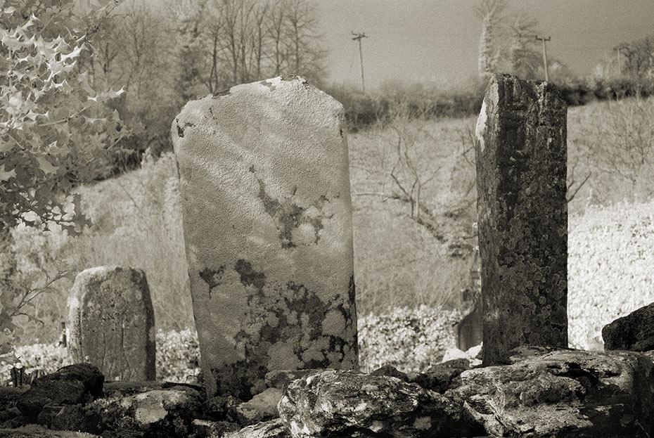 Old Conwal Graveyard pillars