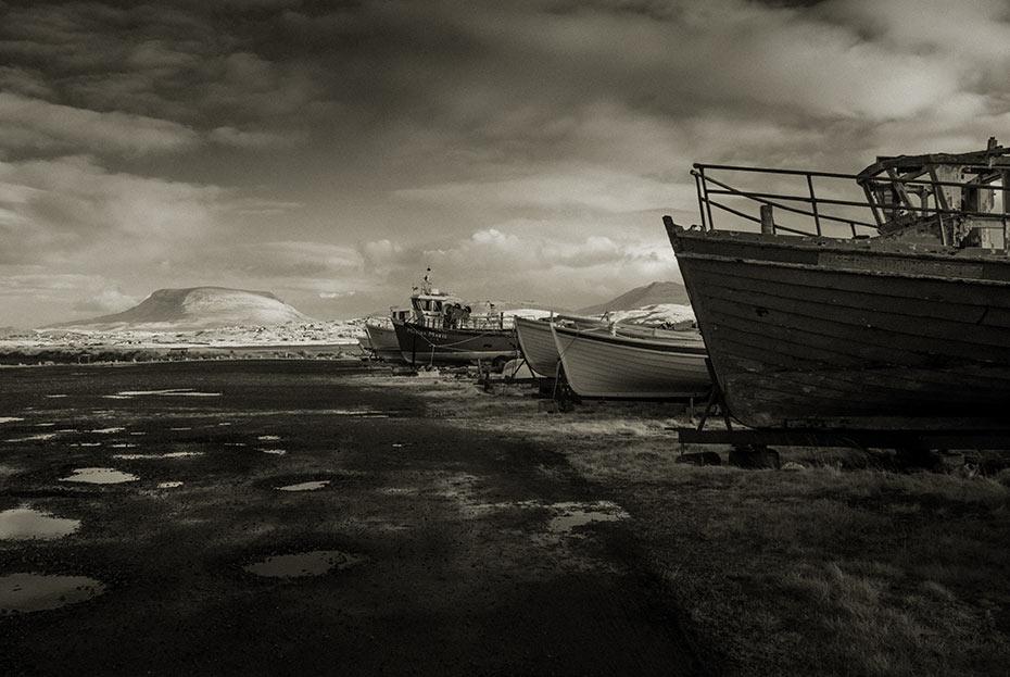 Fishing Boats at Gortahork