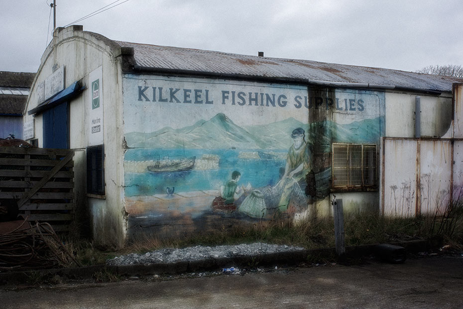 Kilkeel Fishing Supplies - mural