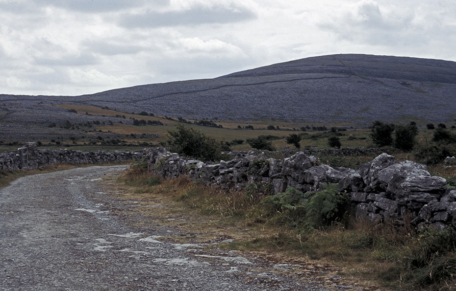 The Burren Landscape in colour