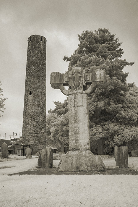 Kells High Cross and Round Tower