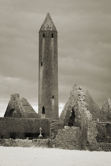 Kilmacduagh Round Tower