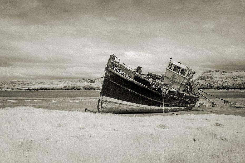 Cruit Island Shipwreck 1