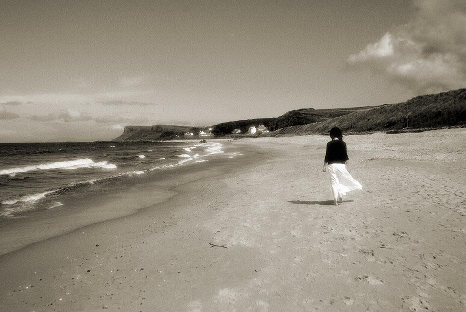 Ballycastle beach stroll