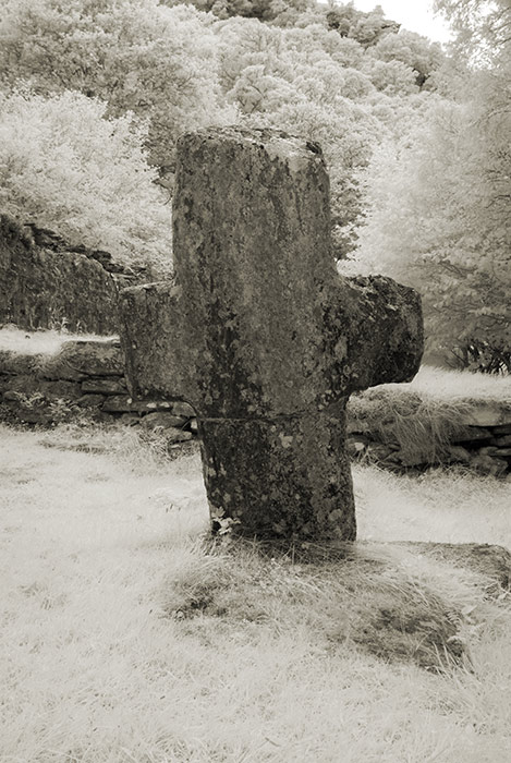 Cross at Reefert Church ruin