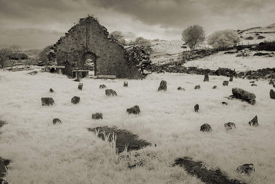 Kilcar old church and graveyard