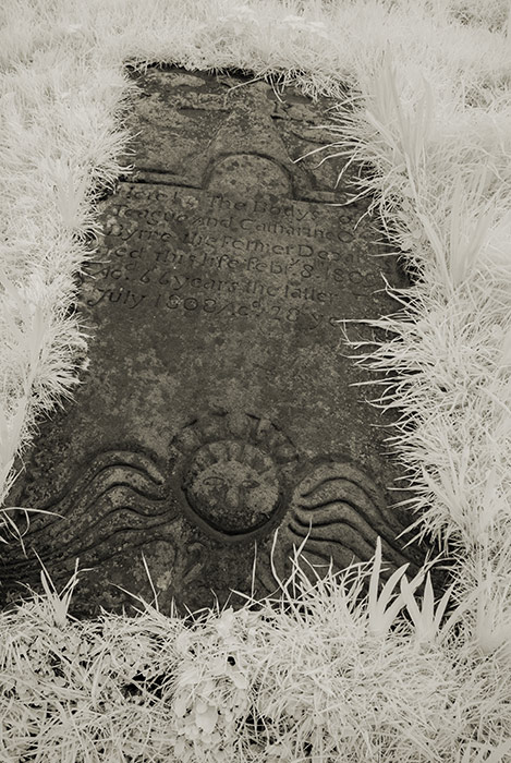 Kilcar old church and graveyard - Grave slabs