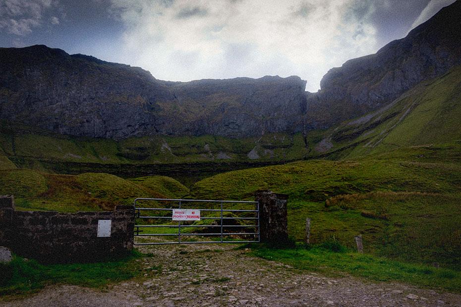 Gleniff horseshoe cliffs