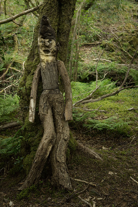 Gleniff wood sculpture