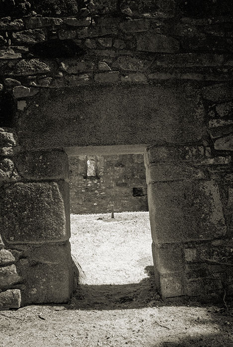 Killeavy church, lintel doorway