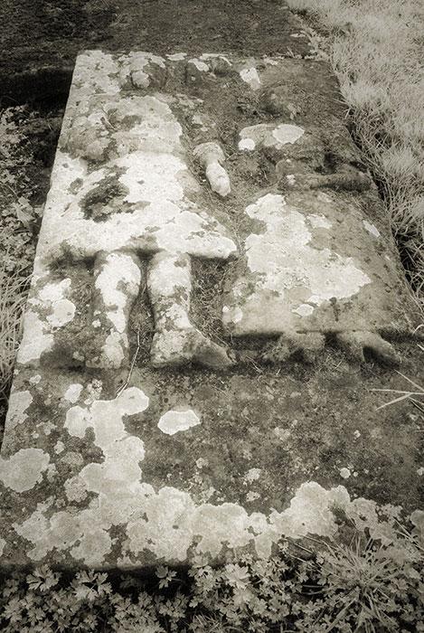 Grave slab