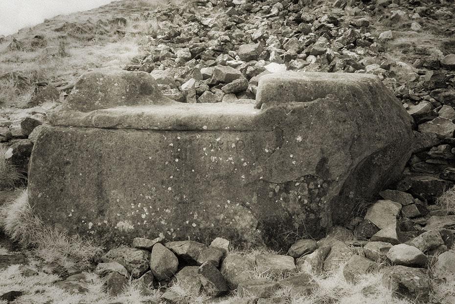 The Hag's Chair on Sliabh na Cailleach