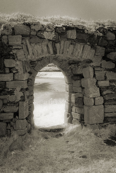 Interior doorway of St Mary's' Church, Inishkeel Island