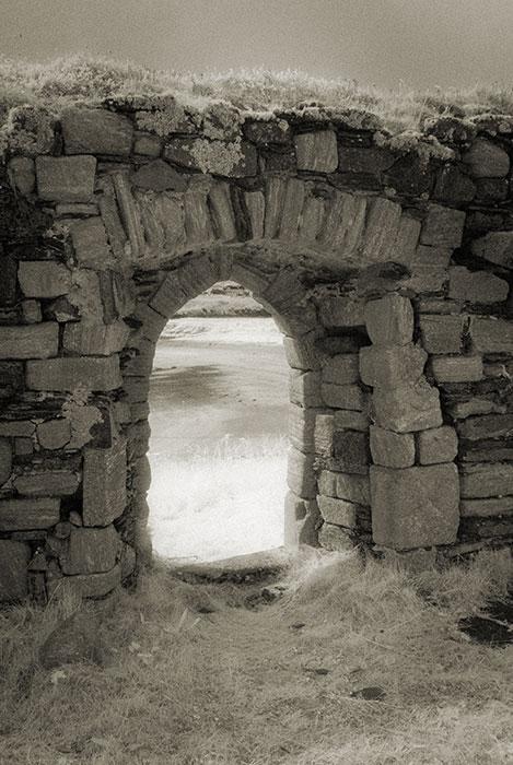 Interior doorway of St Mary's' Church, Inishkeel Island