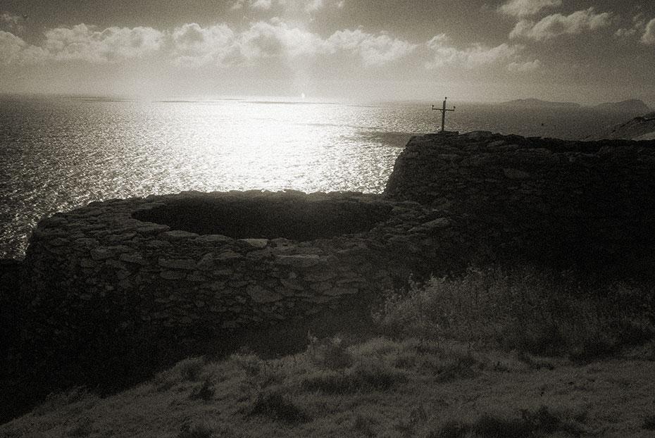 Clochán Mór Beehive Huts