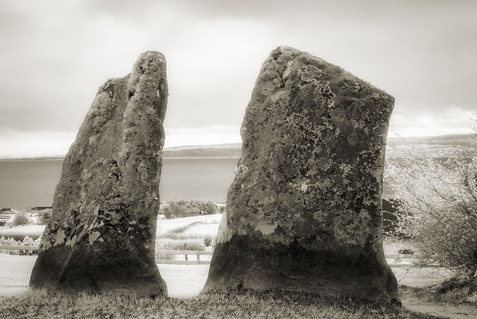 The Standing Stones of Stroove Tomb