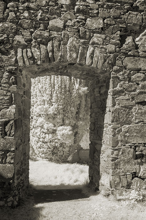 Doorway of The North Church